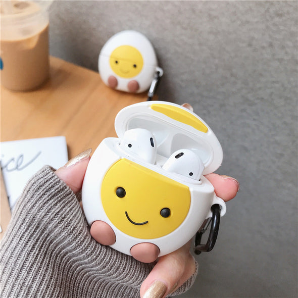 Hard Boiled Egg AirPods Case - Subtle Asian Treats