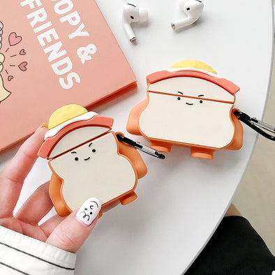 Sunny Side Up Sandwich AirPods Case - Subtle Asian Treats
