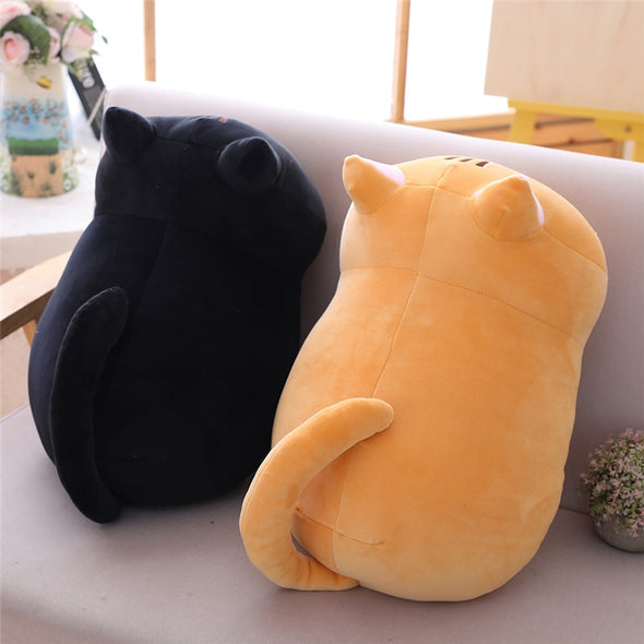 Curious Cat Plushies (4 COLORS, 3 SIZES) - Subtle Asian Treats