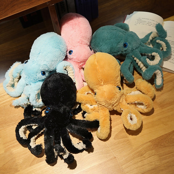 Lifelike Octopi Plushies (4 COLORS, 4 SIZES)