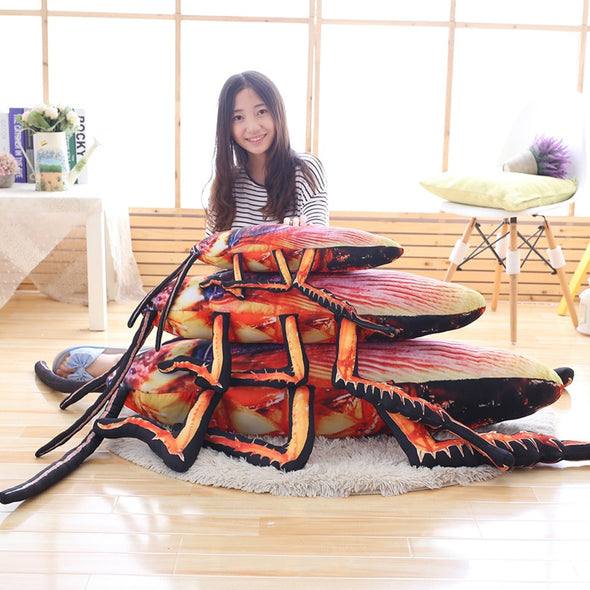 Giant Roach Pillows (4 SIZES)