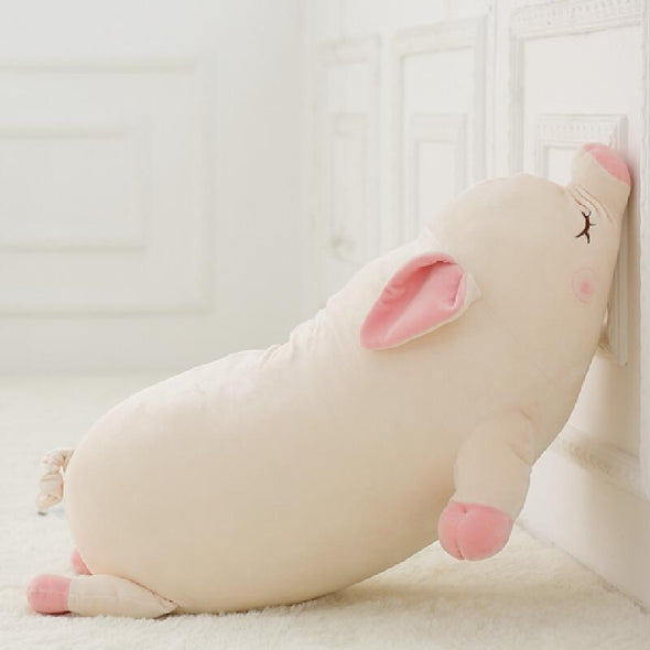 Sleepy Pig Plushie (2 SIZES) - Subtle Asian Treats