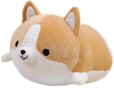 Happy Corgo Plushie (3 COLORS, 3 SIZES) - Subtle Asian Treats