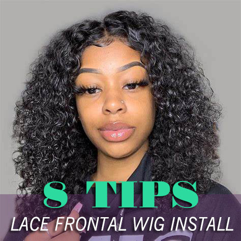 8 TIPS FOR LACE FRONTAL WIG INSTALL