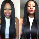 Load image into Gallery viewer, Ear to Ear 13*4 Straight Lace Frontal Closure. 100% Virgin Human Hair Mswisdom