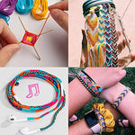 Load image into Gallery viewer, AINIA Embroidery Floss 50 Skeins Friendship Bracelets Floss Rainbow Color Embroidery Thread Cross Stitch Floss