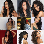 Load image into Gallery viewer, Mswisdom Brazilian Body Wave 13*4 Lace Front Wig, Human Hair Wigs With Baby Hair, 10-24inch