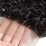 Load image into Gallery viewer, Mswisdom Brazilian Virgin Curly Hair 4x4 Lace Closure