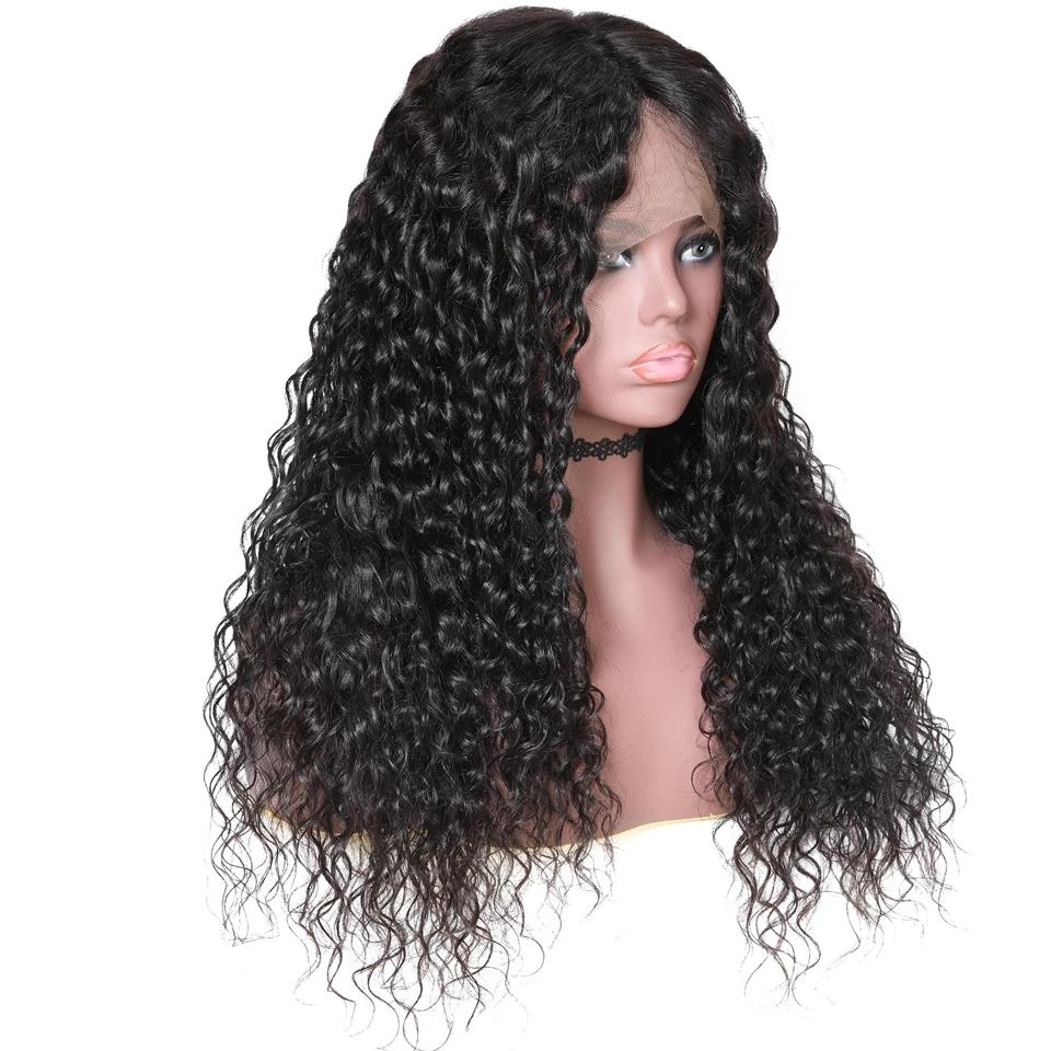 Mswisdom Hair 13X4 Lace Front Curly Human Hair Wig On Sale 10inch-24inch