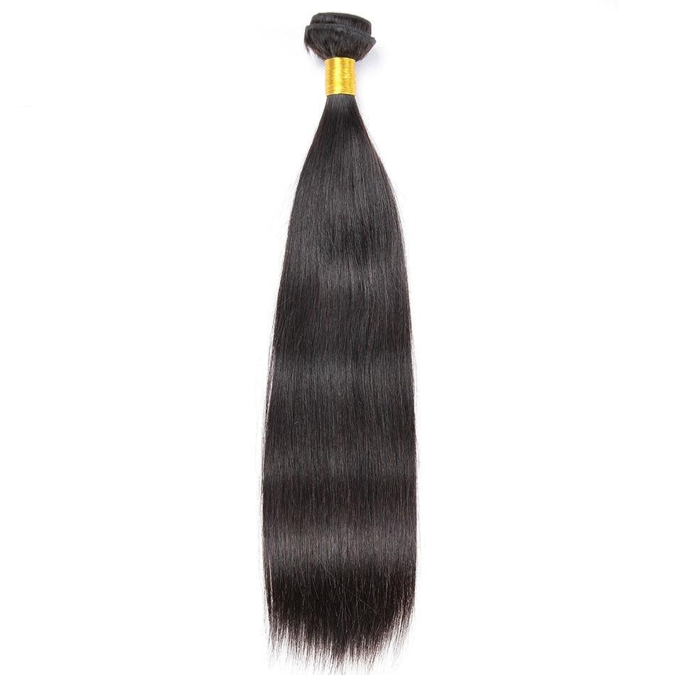 Mswisdom Hair 4pcs/pack Virgin Brazilian Straight Human Hair Weave Bundles