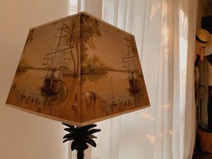 Bespoke 'At the Docks' Artisan Lampshade