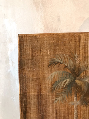 "Vintage Palm Tree 8x10"" Original Artwork"
