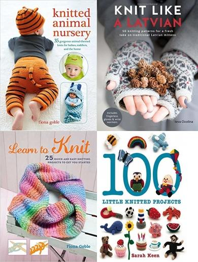 Knitting Books Set - Easy Guide to Knitting - Available at Snazal