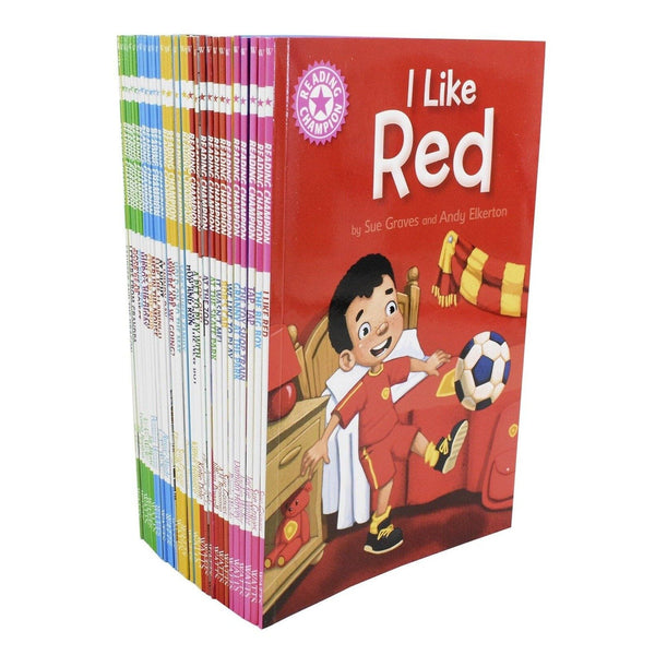 Reading Champion Library for Developing Readers Collection 30 Book Set Series 2