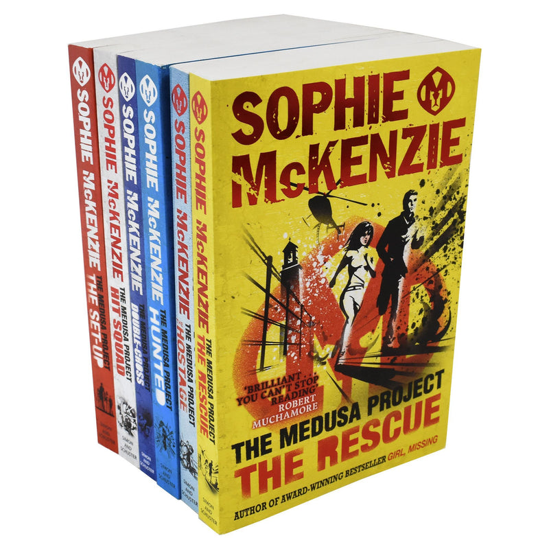Medusa Project Collection Sophie Mckenzie 6 Books Set Double Cross Hit Squad
