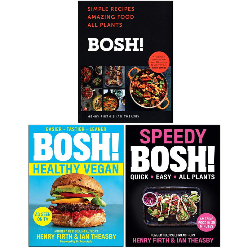 BOSH Series 3 Books Collection Set By Henry Firth & Ian Theasby