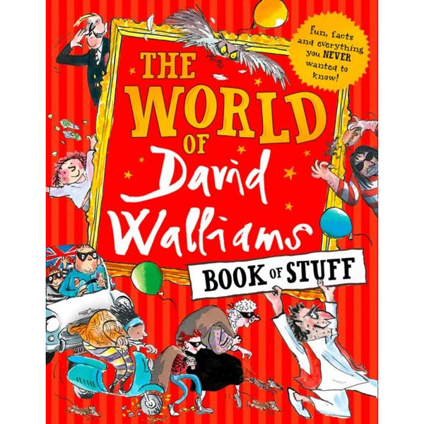 The World Of David Walliams Book Of Stuff By David Walliams