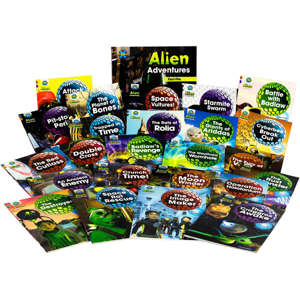 Project X Alien Adventures Series 2 Collection 25 Books Set
