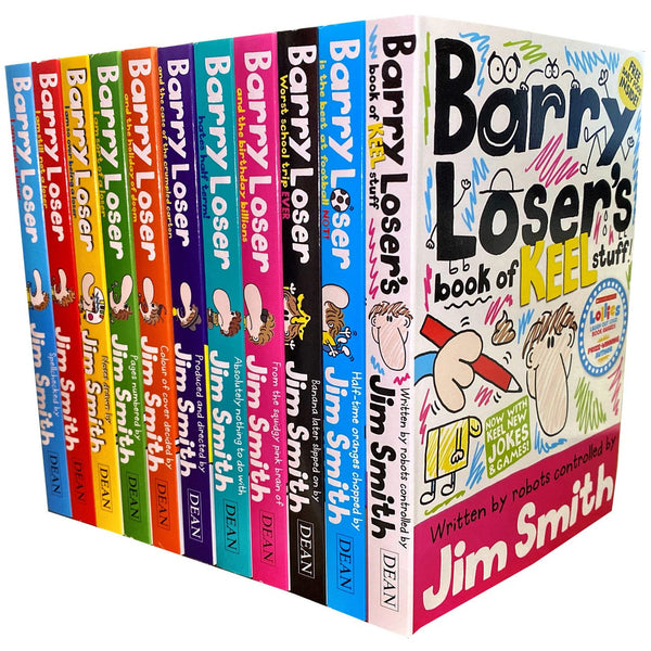 Barry Loser Collection Jim Smith 11 Books Set - books 4 people