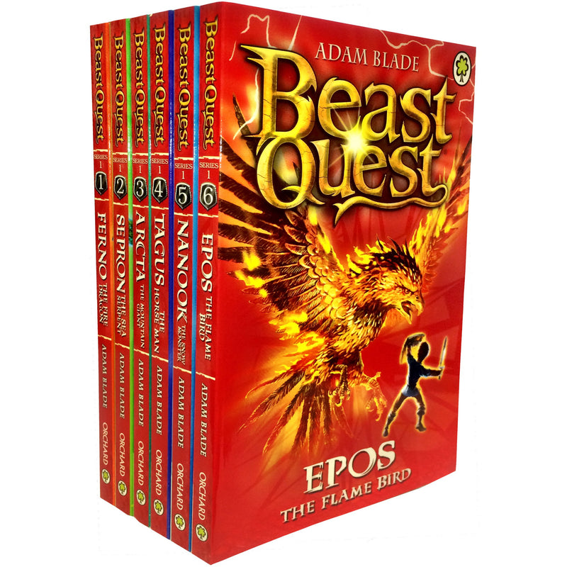 Beast Quest Series 1 Collection 6 Books Set