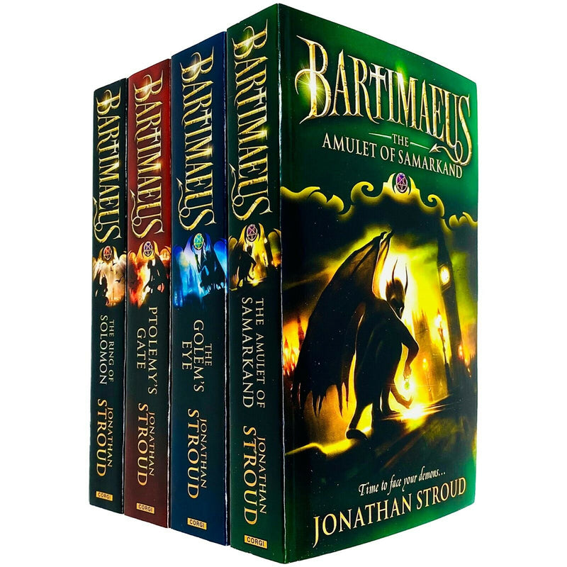 Jonathan Stroud The Bartimaeus Series 4 Books Collection Set