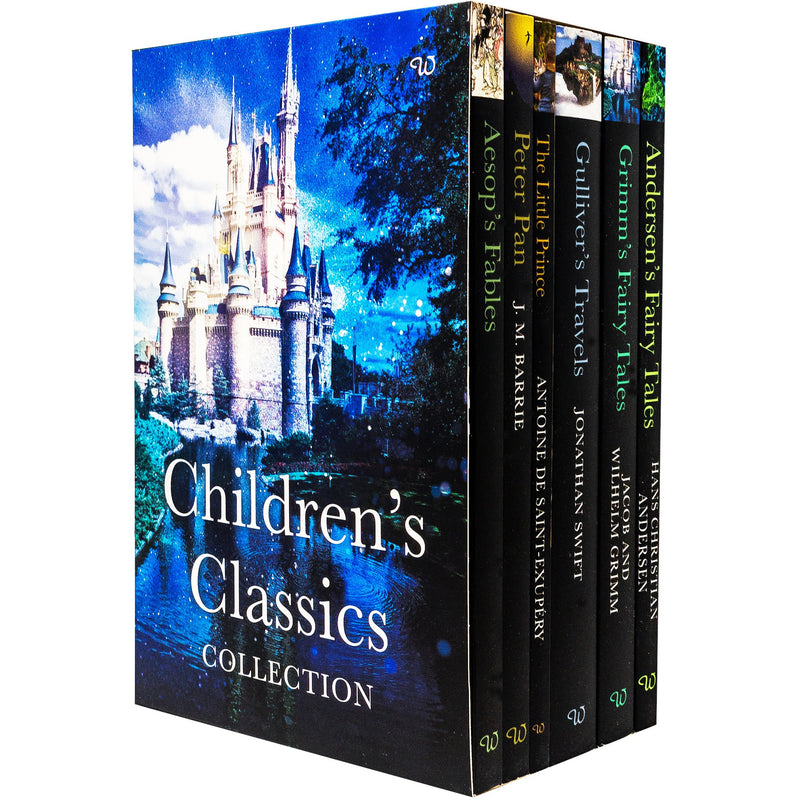 Classic Childrens Books Series 6 Storybook Collection Box Set - Ages 7-11 - Paperback