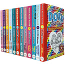 Dork Diaries Series 12 Books Collection Set By Rachel Renee Russell