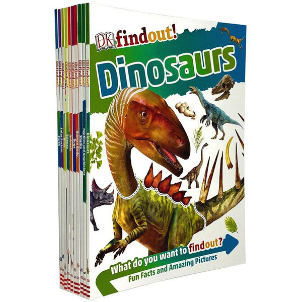 DK Findout Series with Fun Facts and Amazing Pictures 10 Books Collection Set - books 4 people