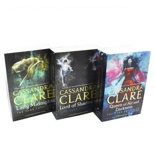 Cassandra Clare The Dark Artifices 3 Books Collection Box Set Lady Midnight Lord Of Shadows Queen ..