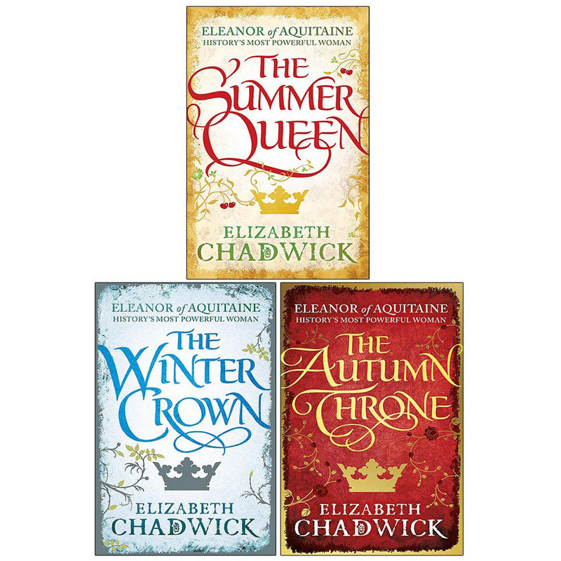 Eleanor of Aquitaine Series 3 Books Collection Set By Elizabeth Chadwick - books 4 people