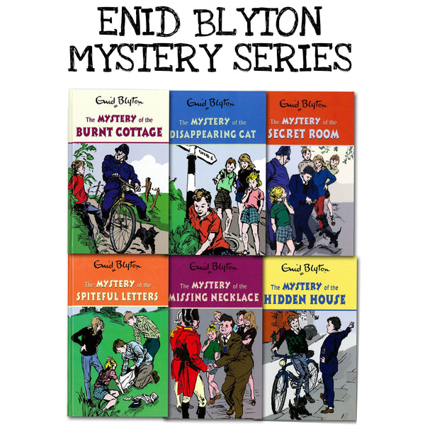 Enid Blyton Mystery Series - 6 Books Collection