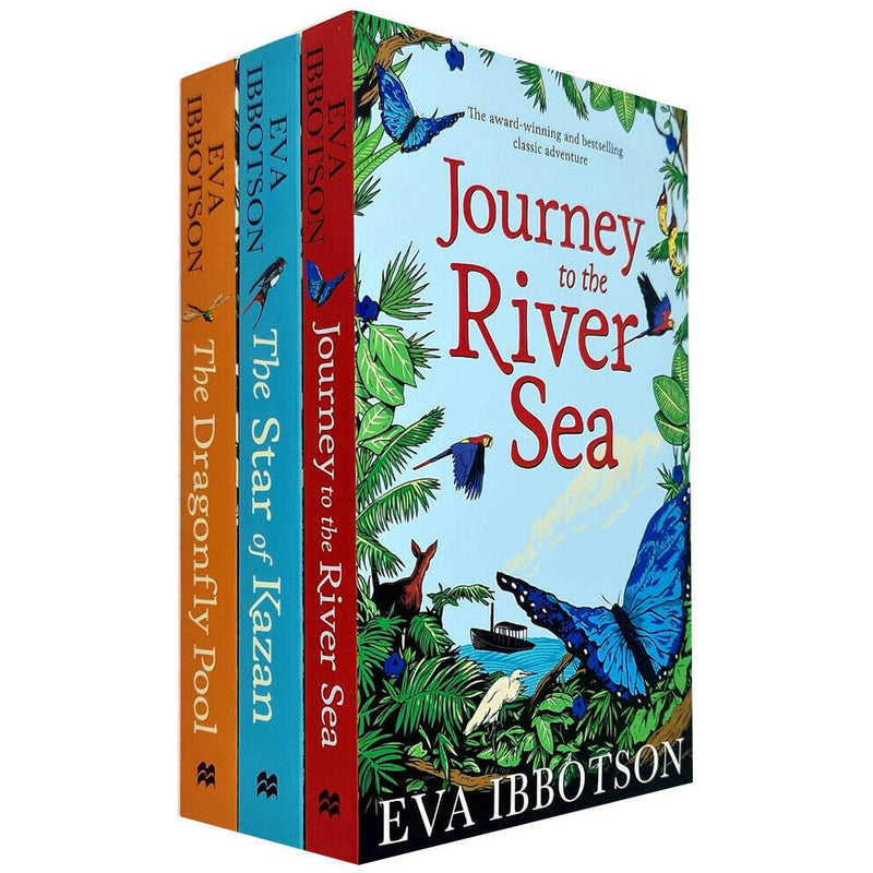 Eva Ibbotson 3 Books Collection Set Journey To The River Sea The Dragonfly Pool The Star Of Kazan