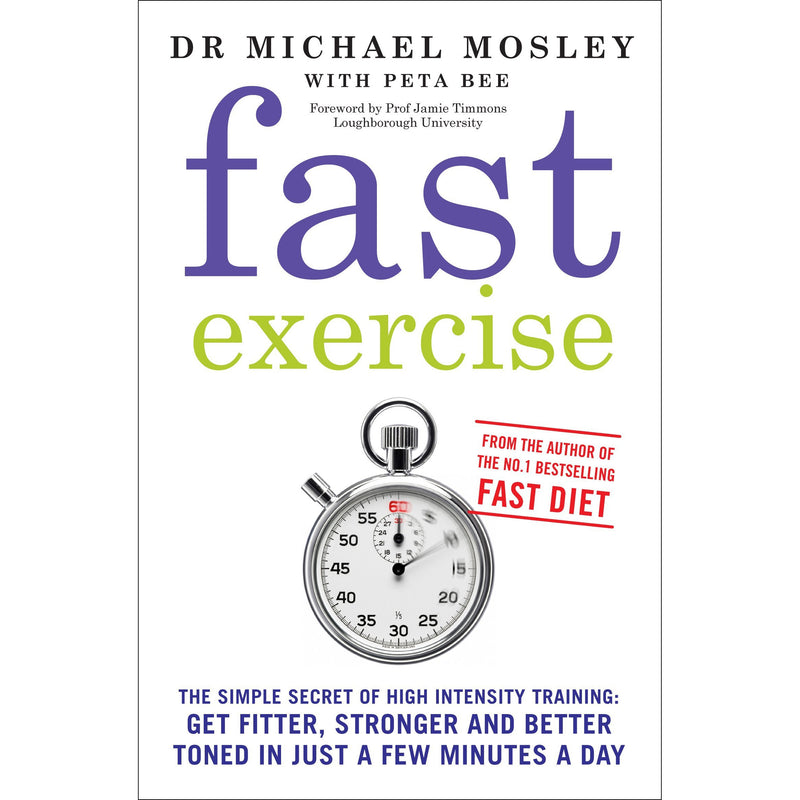 Michael Mosley 3 Books Collection Set (Fast Exercise, The Fast Diet, Fast Asleep)