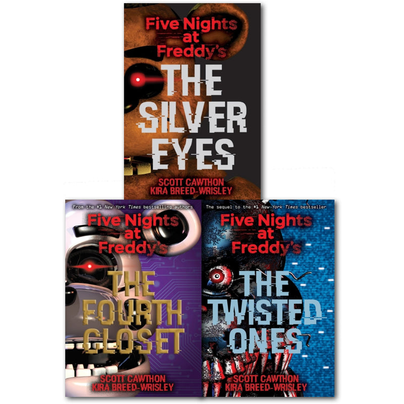 Five Nights at Freddy 3 Book Collection Set - The Fourth Closet, The Twisted Closet, The Silver Eyes