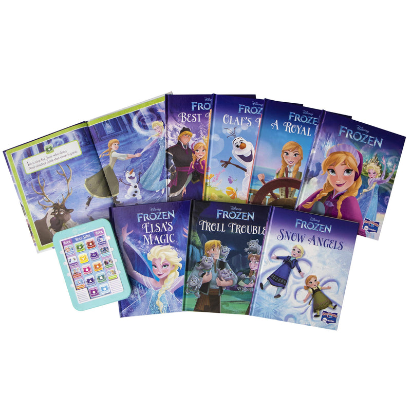 Disney Frozen Elsa, Anna, Olaf, and More! Me Reader Electronic Reader and 8-Sound Book Library - Great Alternative to Toys for Christmas