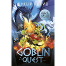 Philip Reeve Goblins Series 3 Books Collection Set - Goblins, Goblins vs Dwarves, Goblin Quest