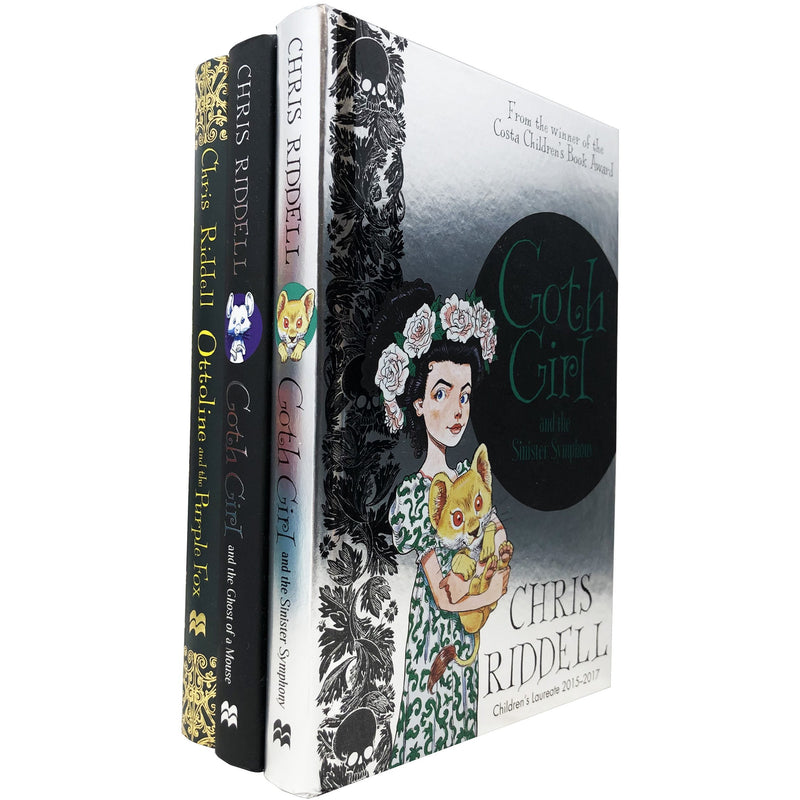 Goth Girl Series 3 Books Collection by Chris Riddell Children Hardcover Gift Set - books 4 people