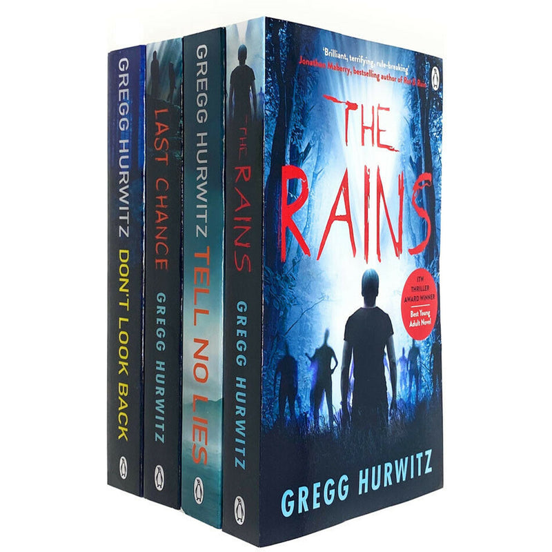 Gregg Hurwitz Thriller Collection 4 Books Set - Tell No Lies, The Rains, Last Chance, Dont Look Back - books 4 people