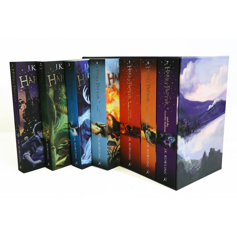 The Complete Harry Potter 7 Books Collection By J.K. Rowling-  Boxed Gift Set