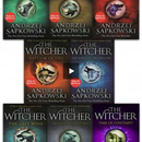 Andrzej Sapkowski The Witcher Series 8 Books Collection Set - Blood Of Elves Time Of Contempt Bapt.. - books 4 people