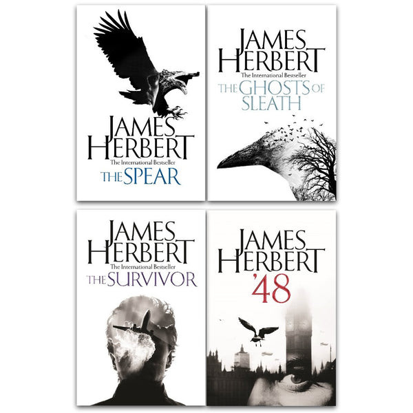 James Herbert 4 Books Collection Set Survivor Ghosts Of Sleath Spear 48