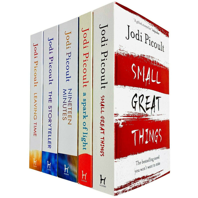 Jodi Picoult 5 Books Collection Set Small Great Things, A Spark of Light, The Storyteller, Leaving Time