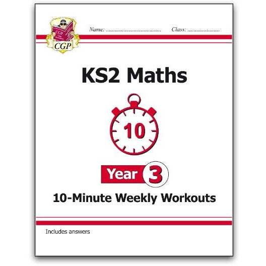 KS2 Maths 10-Minute Weekly Workouts - Year 3