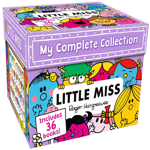 Little Miss My Complete Collection - 36 Books Box Set