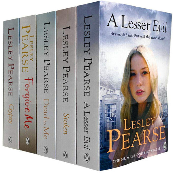 Lesley Pearse Collection 5 Books Set - Gypsy Forgive Me Dead To Me Stolen A Lesser Evil