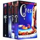 Marissa Meyer Lunar Chronicles Series Collection 4 Books Set - Cinder Scarlet Cress Winter