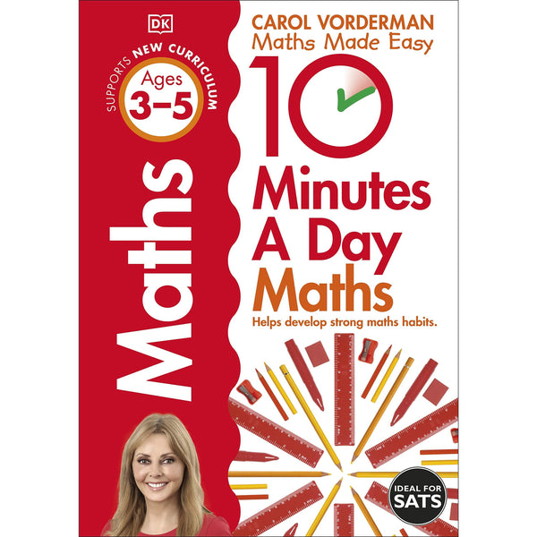 10 Minutes A Day Maths, Ages 3-5 (Preschool)