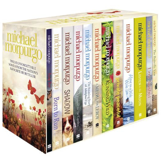 Michael Morpurgo Collection 12 Books Box Set Farm Boy Born To Run Shadow An Elephant In The Garden..