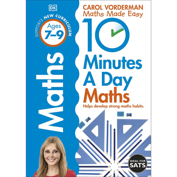 10 Minutes A Day Maths, Ages 7-9 (Key Stage 2)