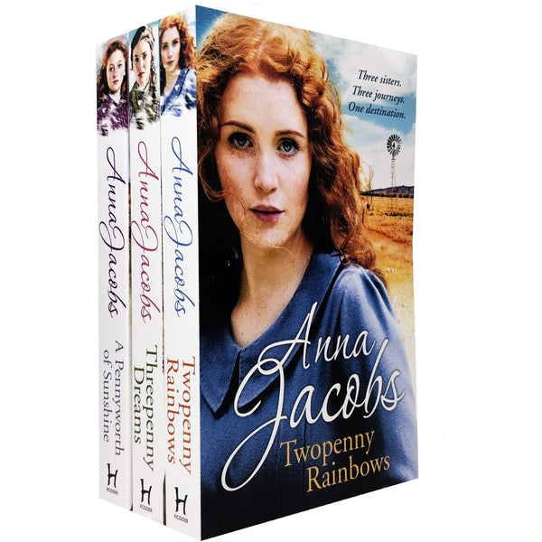 Anna Jacobs Michaels Family Series 3 Books Collection Set NEW COVER - books 4 people